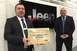 Paul Lloyd, Swansway FIAT general sales manager and Andrew Wakelin, Swansway Chester operations director