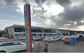 Closure: Jenkins Garages' former Mitsubishi and Suzuki site on Hadfield Road, Cardiff