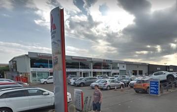 Closure: Jenkins Garages' former Mitsubishi and Suzuki site on Hadfield Road, Cardiff