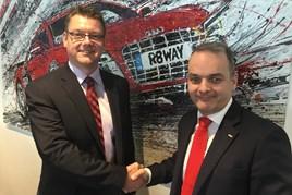 Jon Head of Ridgeway and Jeremy Evans of Marketing Delivery