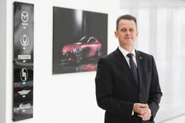 Jeremy Thomson, managing director of Mazda UK