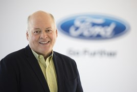 Ford Motor Company president and chief executive Jim Hackett