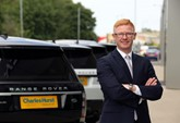 Alan Thompson, head of business at Charles Hurst's £8m Jaguar and Land Rover base in Belfast