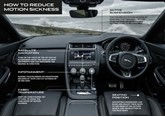 JLR motion sickness technology