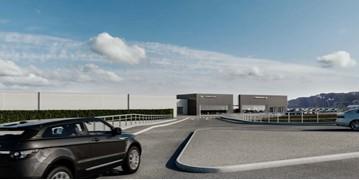 Artist's impression: Sytner Group's planned JLR dealership at Swan Valley, Northampton