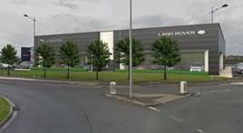 Artist's impression: Pendragon's planned Stratstone JLR dealership in Nottingham