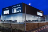 The UK's first Jaguar Land Rover (JLR) Arch concept car dealership, Sytner Group's Guy Salmon site in Stockport