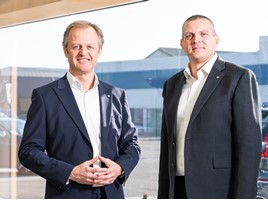 Endeavour Automotive founder John Caney and managing director, Adrian Wallington