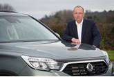 John Chisholm at SsangYong Motor UK