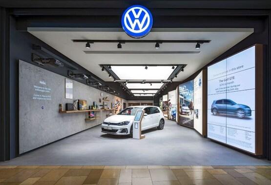 Johnsons Cars' Volkswagen Bullring store