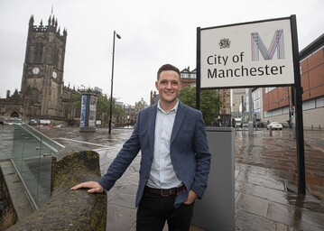 Jordan Dean, Motorpoint head of retail operations for the North West