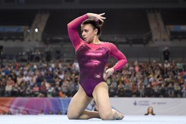 British Gymnastics star star Claudia Fragapane