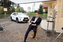 Jude Law and the new Lexus RX