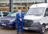 Justin Boon, general manager of Mercedes-Benz of Aylesbury