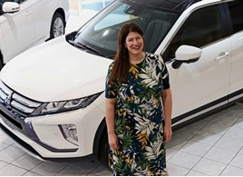 Mitsubishi Motors in the UK's new general manager of marketing and communications, Katie Dulake