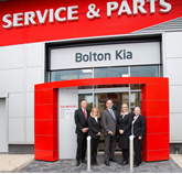 Kia Bolton opens its newly-expanded servicing and parts department