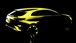 Teaser image: Kia's planned Ceed crossover model