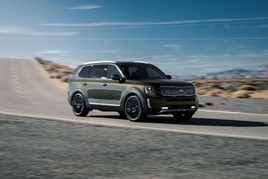 The Kia Telluride has been named World Car of the Year