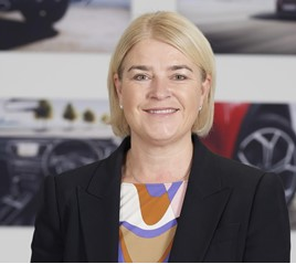 Kate McLaren, Kia Motor UK's general manager of customer quality