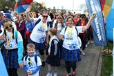Arnold Clark employees took part in all three Kiltwalk events, raising £140,000 for charity