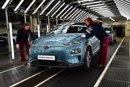Kona Electric production has now begun at Hyundai's European Czech plant
