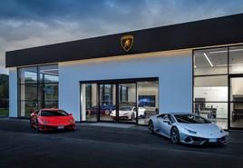 Park's Motor Group's new Lamborghini dealership in Leeds