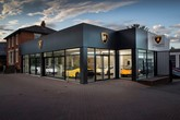 HR Owen's new Automobili Lamborghini showroom in Pangbourne, Reading