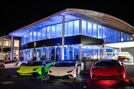 Cambria Lamborghini dealership