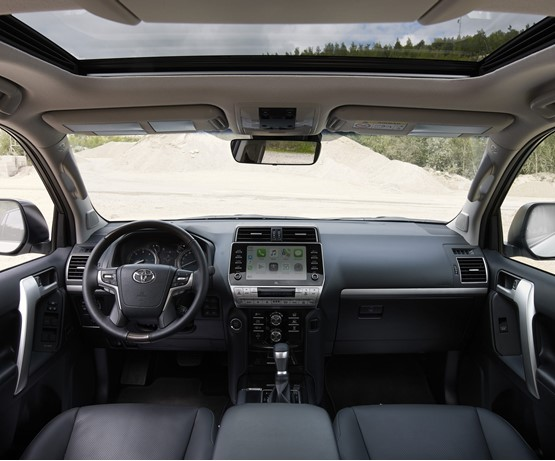 Inside the 2020 Toyota Land Cruiser