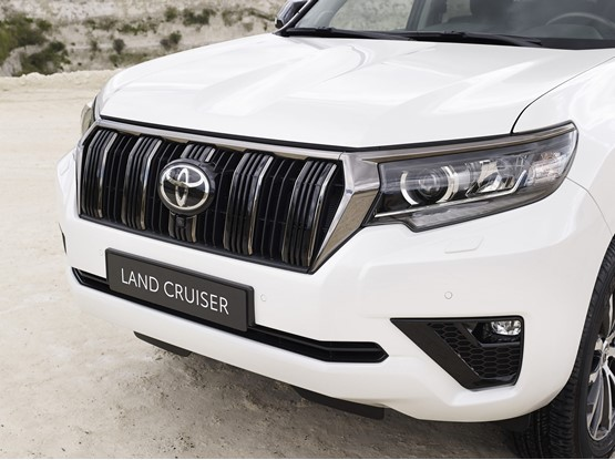 Toyota's updated 2020 Land Cruiser SUV features a new grille