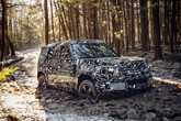 The new Land Rover Defender in off-road testing