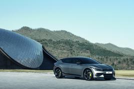 Kia's new EV6 crossover electric vehicle (EV)