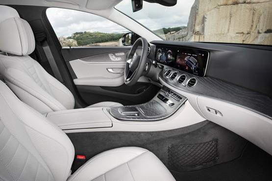 New Mercedes-Benz E Class, interior