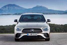 New Mercedes-Benz E Class saloon