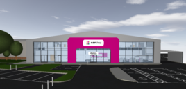 The planned CarShop Express store in Leighton Buzzard