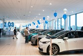 Volkswagen ID.3 EV 1ST Edition Grand Handover event