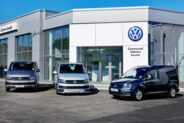 ​West Yorkshire Van Centre's new Volkswagen Commercial Vehicles Used Van Centre in Leeds