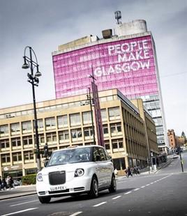 LEVC Glasgow taxi