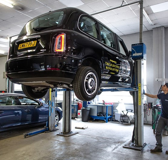 Some Volvo Car UK retailers are already catering for LEVC customers' servicing needs