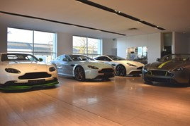 Leven Car Company showroom Edinburgh
