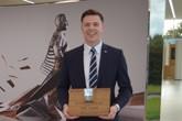 Award-winning Bentley Motors apprentice Lewis Clarke