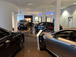 Lexus Pool showroom