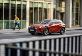 Customer promise: Lexus UX SUV on a test drive