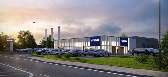 Lipscomb Cars' planned Volvo showroom in Canterbury