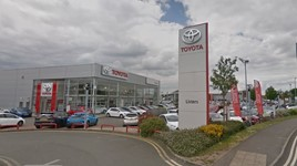 Listers Group's Toyota dealership in Nuneaton