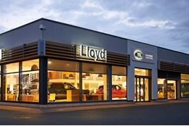Lloyd Motor Group's Kelso Land Rover showroom