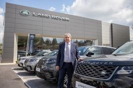 Shaun McElhinney, head of business at Lookers Jaguar Land Rover Bishop's Stortford