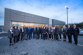 The opening of Lookers' new Jaguar Land Rover (JLR) dealership in Aylesbury was celebrated by team members