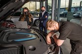 Lookers car retail group's aftersales apprentices at work
