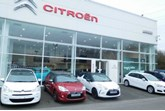The former Lookers Newport Citroen showroom